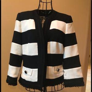 White/Black Market Jacket